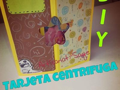 Tarjeta centrifuga para toda OCASION-DIY-HOW TO