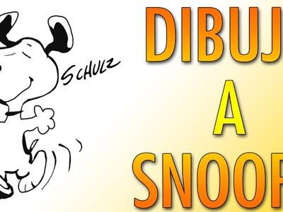 Tutorial: Como dibujar a Snoopy