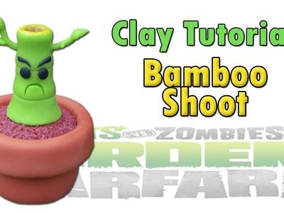 BAMBOO SHOOT PVZ Tutorial (Garden Warfare Ver.) - Polymer clay ★ Porcelana fria ★ Plastilina