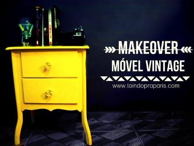 DIY:: Como Reformar Móvel Vintage
