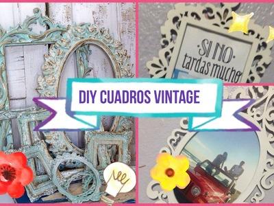 DIY Cuadros Vintage Facil y Rapido