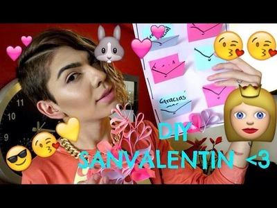 DIY♡ Día de los Enamorados ♡- Carta de amor y Ball Jar Decorado ♡!!- SaJid MrDiva ♡