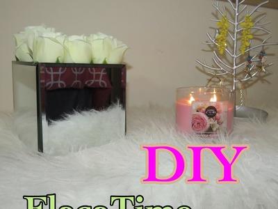 DIY Florero de espejo