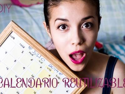 DIY (HAZLO TU MISMO) CALENDARIO REUTILIZABLE | ELIZA B CHANNEL