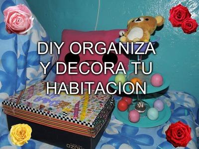 DIY organiza y decora tu habitación
