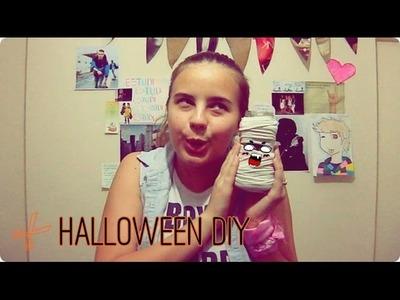 #Halloween #DIY | Recicla frascos para adornos de Halloween