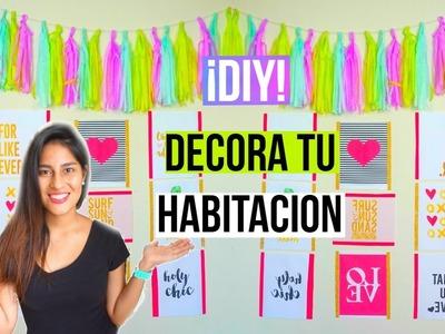 ¡DIY! ♡ 2 IDEAS PARA DECORAR TU HABITACIÓN.CUARTO ♡ - ALEDIYTIPS