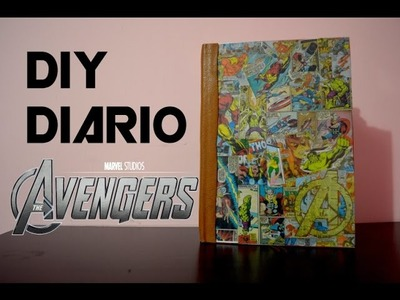 PP FANDOM - The Avengers Diario DIY - PP Arts