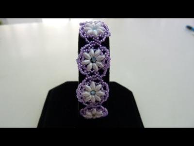 Tutorial pulsera de flores