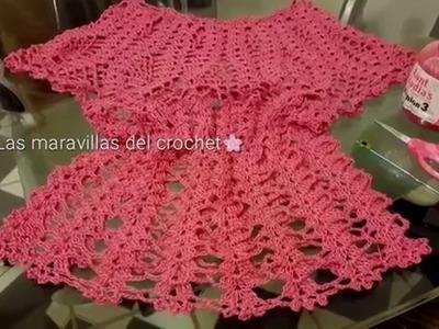 Blusa de piñas parte #2 en crochet  (ganchillo)
