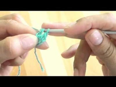 Cómo empezar una labor a crochet sin montar cadenetas'???