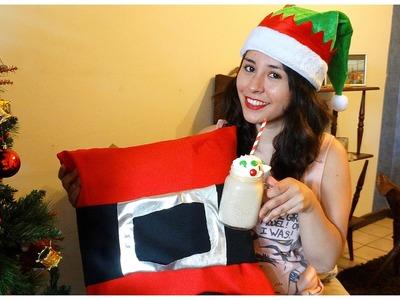 DIY Cojín de Santa + Snack ♥ Colab Dylan Irarrazabal
