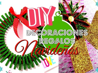 DIY REGALOS.DECORACIONES NAVIDEÑAS -TUTORIAL ♥♥.MLWEST