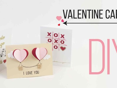 DIY  Valentine Cards. Tarjetas de San Valentin