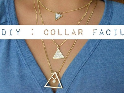♡ Easy DIY Necklace - DIY Collar fácil!