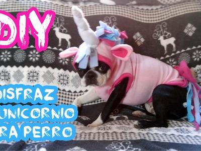 HALLOWEEN DIY ♥ Disfraz de unicornio para perro ♥