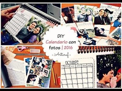 Como Hacer un Calendario 2016 con Fotos | DiY