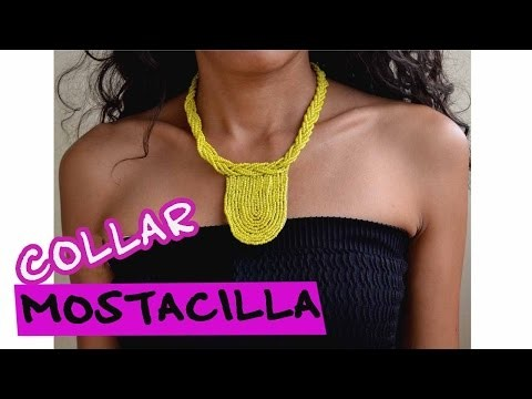 DIY -Collar Mostacilla - Bisutería Moda