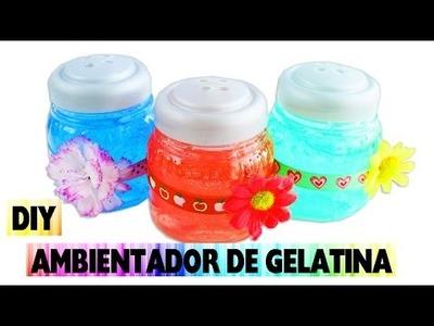 DIY Como Hacer Un Ambientador Casero de Gelatina Sin Cocinar