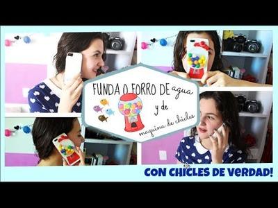 DIY FUNDAS QUE DE AGUA Y DE CHICLES!  ♡