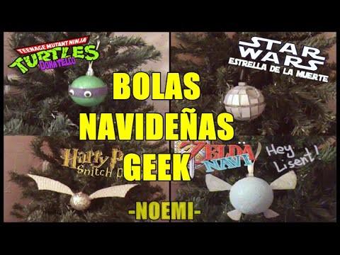 DIY GEEK: Bolas Navideñas | Noemi ★