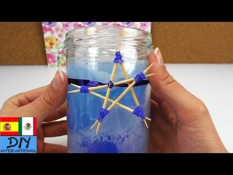 DIY Mini estrella con mondadientes