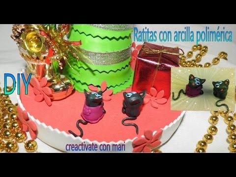 Diy Ratitas sigo decorando el árbol de navidad kawaii