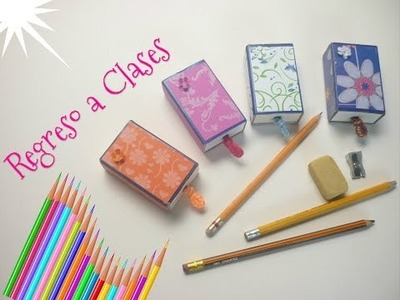 Manualidades: de REGRESO a CLASES (Recicla y Reutiliza) DIY - Back to School ( Recycle and Reuse )