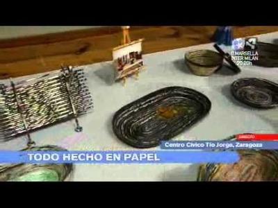 Aragon en Abierto 220212 Expo artesania papel