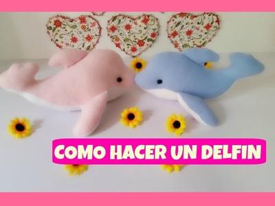 COMO HACER UN DELFÍN   ¡¡¡ MOLDES GRATIS !!!. HOW TO MAKE A DOLPHIN  ¡¡ FREE PATTERN!! - MI ATELIER