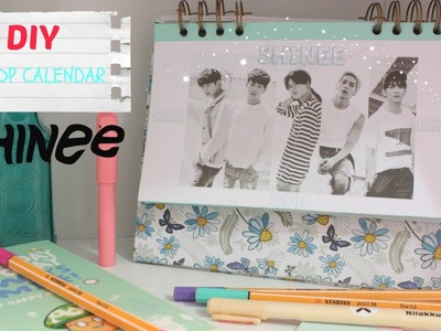 DIY KPOP: SHINEE, EXO, TEEN TOP Calendario 2016