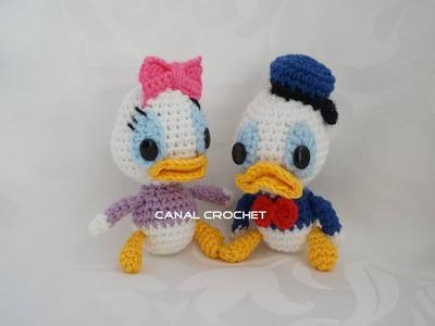 Donald y Daisy amigurumi tutorial
