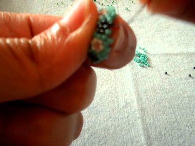Forrar bolas con delicas y rocallas - Parte 3 de 4