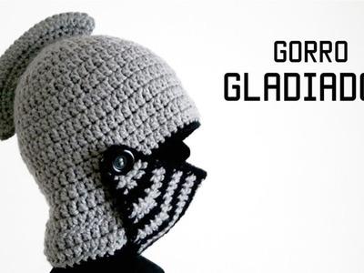 GORRO DE GLADIADOR a crochet PARTE 2 de 2 | tutorial paso a paso