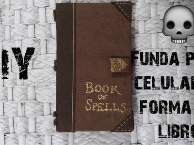 HALLOWEEN DIY ♥ Funda de celular en forma de Libro ♥