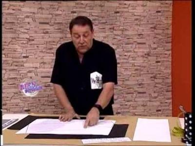 Hermenegildo Zampar - Bienvenidas TV -  Transformaciones de moldes de punto para telas.