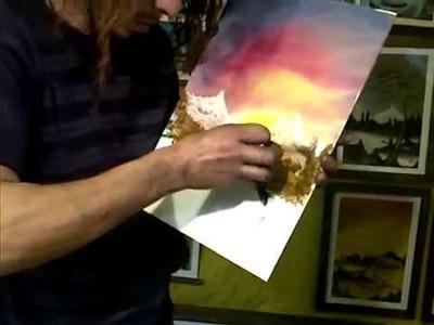 Pintura con los dedos. Espectacular