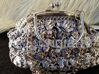 Tutorial Bolso a Crochet Boquilla Redonda, Rápido y Fácil de Realizar