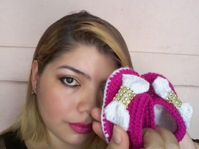 Botitas, zapatillas, patucos, escarpines para bebé MI NIÑA COQUETA