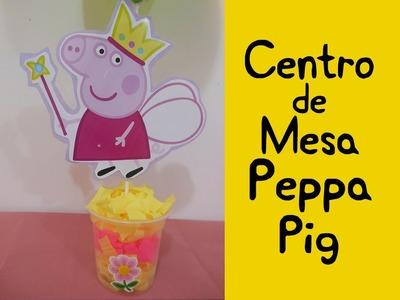 Centro de mesa Peppa Pig (Peppa Pig Centerpiece)