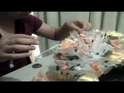Como elaborar un ramo(bouquet)para xv años