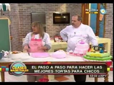 Decoración de tortas (Parte 2)