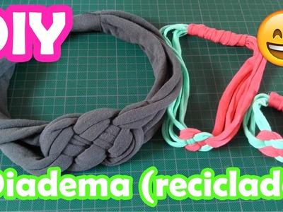 DIY ♥ Diadema reciclada ♥