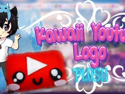 DIY Kawaii Youtube Logo Plush ✰ Tutorial ✰