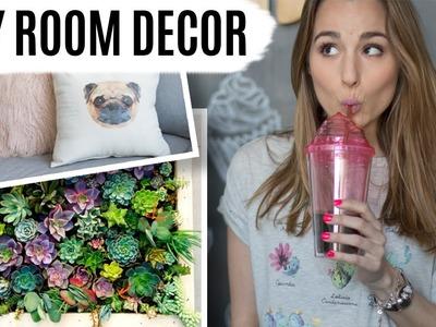 DIY ROOM DECOR   Jardín vertical & cojines con fotos