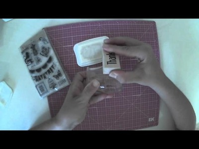 Estampar en cristal. Tutorial