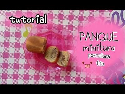 Panque mini PORCELANA FRIA marmol cake