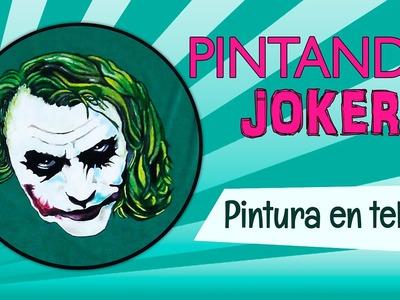 Pintando Guason o Joker - Técnica pintura en tela