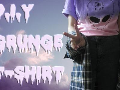 Blusa Degradada.Ombre T-shirt DIY