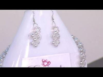 Como elaborar en collar en perlas - Hogar Tv  por Juan Gonzalo Angel